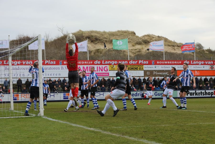 Spakenburg wint van Quick Boys door penalty