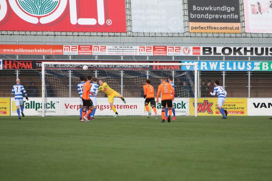 Spakenburg laat punten liggen tegen Jong Volendam