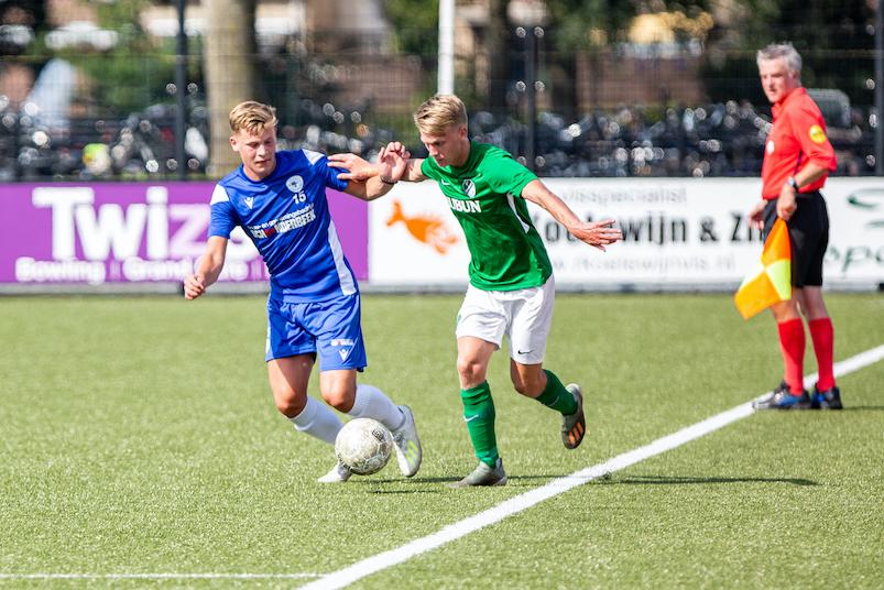 Spakenburg wint van VV Eemdijk