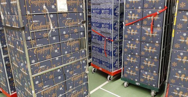 Kerstpakket voor alle Blauwe vrijwilligers en functionarissen